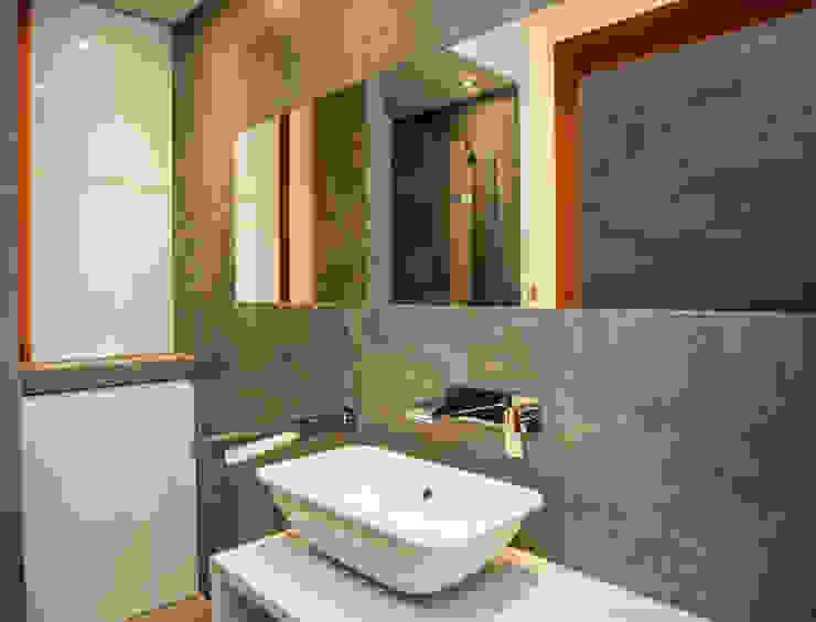 Mieszkanie w Browarze Lubicz - Kraków Nowoczesna łazienka od Lurvig Nowoczesny