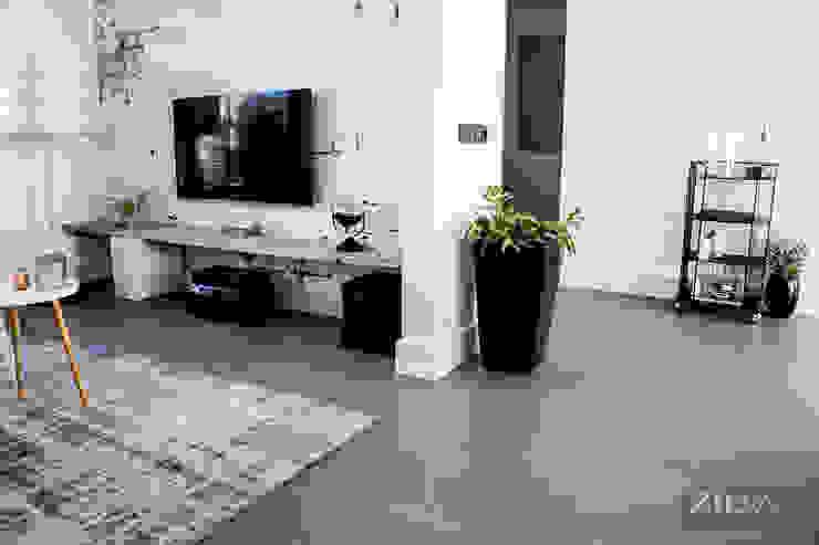 Woonbeton | living Industriële muren & vloeren van Zilva Vloeren Industrieel Beton