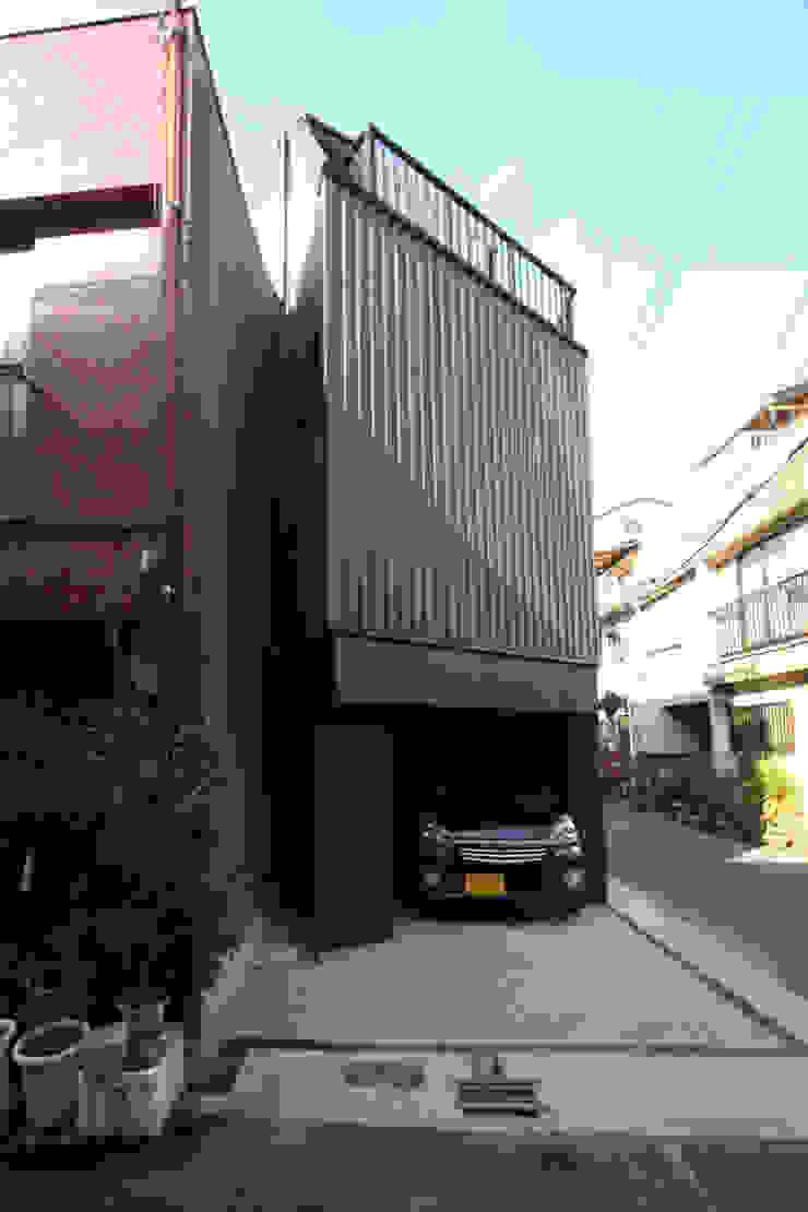 saikudani no ie Casas modernas por atelier m Moderno Ferro/Aço