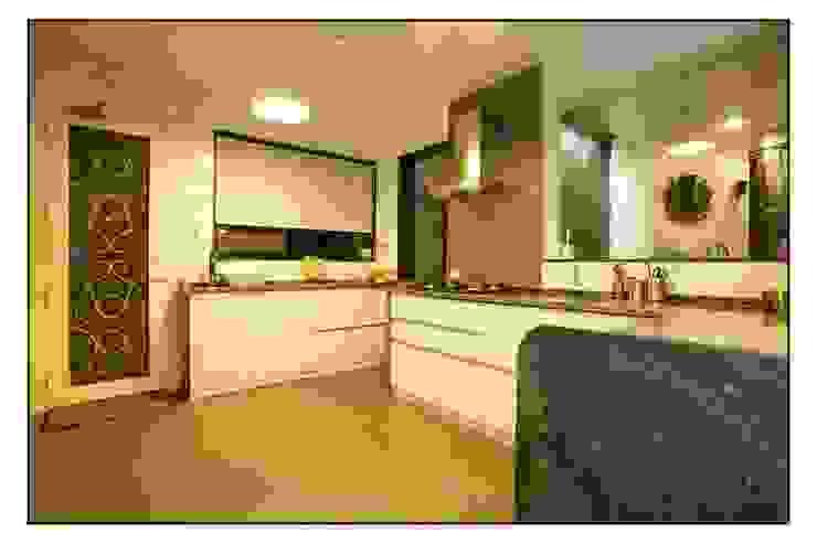 The 'White Kitchen' Navmiti Designs Modern kitchen