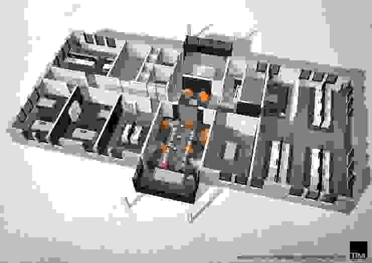 X-com BV Maasbree Moderne kantoorgebouwen van Tim Knubben | Architectural Designer Modern