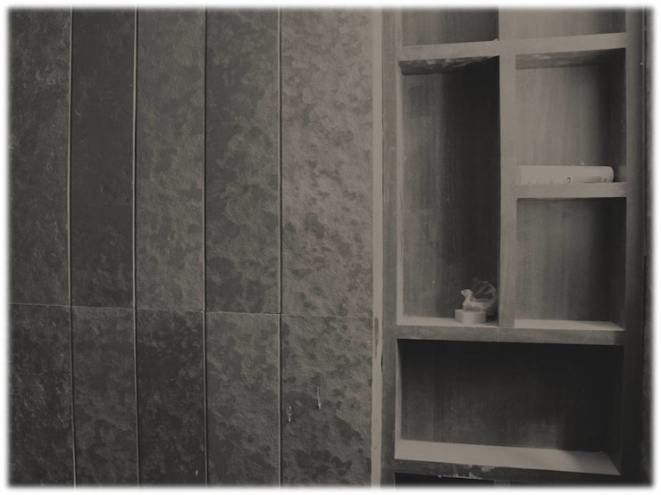 MR. NIMITBHAI DESAI RESIDENCE Rustic style bathroom by INCEPT DESIGN SERVICES Rustic