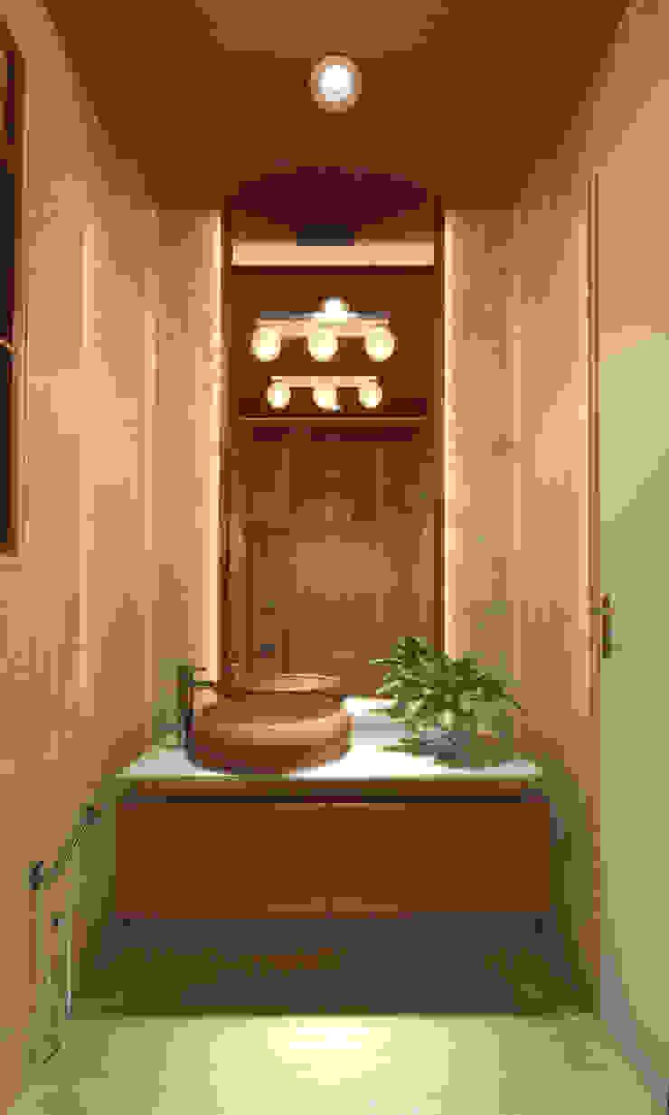 DR. BHAVESHBHAI CHUAHAN RESIDENCE Modern bathroom by INCEPT DESIGN SERVICES Modern