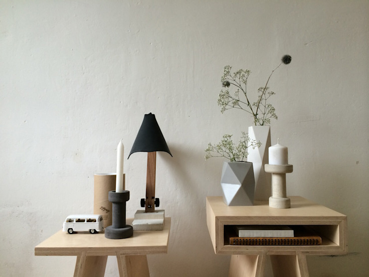 BigFoot lamp van Tim Vinke - Interior Design Industrieel Hout Hout