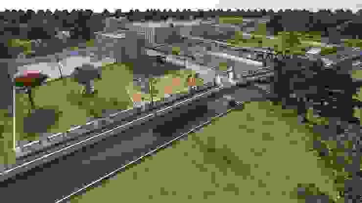 VIDHYADEEP COLLEGE CAMPUS Modern schools by INCEPT DESIGN SERVICES Modern