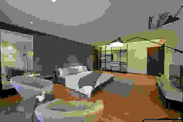 Minimalist bedroom by homify Minimalist Iron/Steel