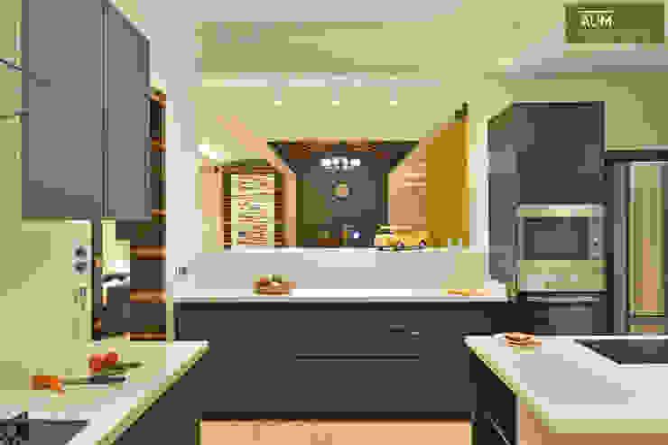 Modern kitchen by homify Modern Glass