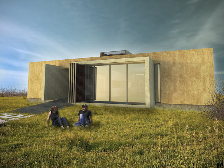 Minimalistische huizen van Arquitecto Juan Nicolás Bobba Minimalistisch