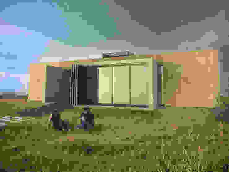 Casas minimalistas por Arquitecto Juan Nicolás Bobba Minimalista