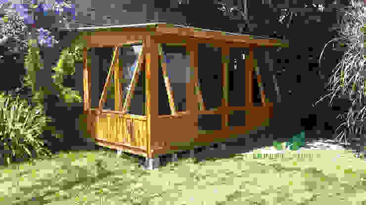 بيت زجاجي تنفيذ Mundo Garden, تبسيطي