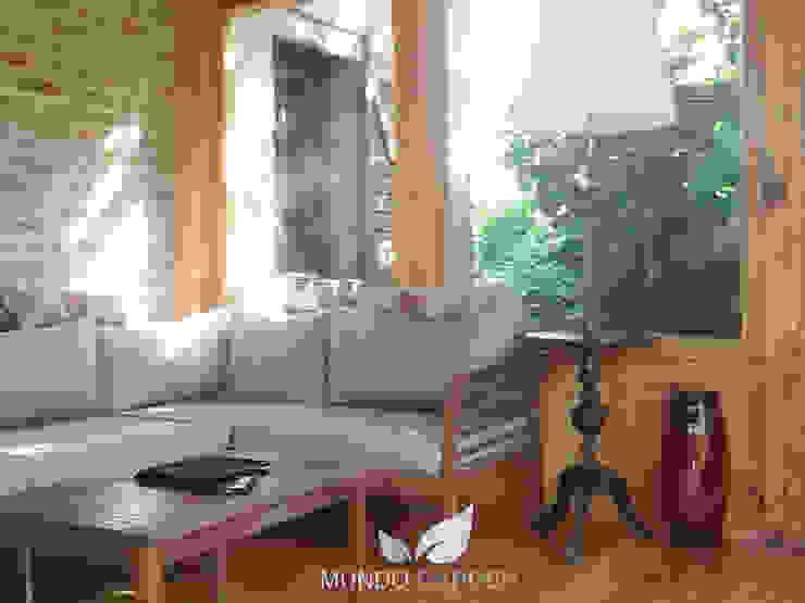 Mundo Garden Jardines de invierno de estilo minimalista