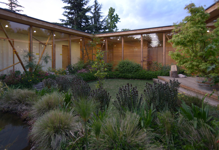 Jardines de estilo  por PhilippeGameArquitectos,