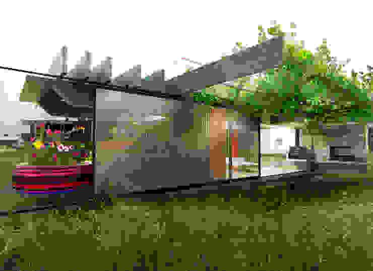 Refugio de día / Bahia Blanca / Bs. As. Casas rústicas de juan olea arquitecto Rústico