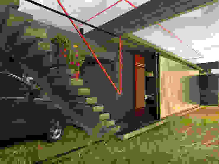 Casas rústicas por juan olea arquitecto Rústico