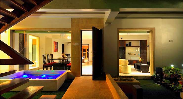 Asian style balcony, veranda & terrace by homify Asian Sandstone