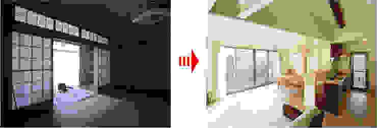 现代客厅設計點子、靈感 & 圖片 根據 nano Architects 現代風