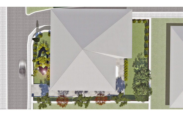 Fulya Evi Bahçesi Kırsal Bahçe P2 Tasarım Kırsal/Country