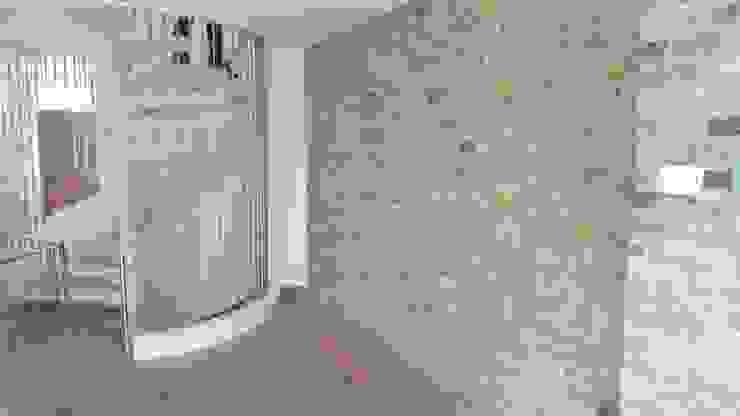 Mews House Notting Hill Corredores, halls e escadas modernos por Yohan May Design Moderno Tijolo