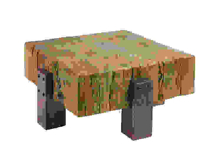 industrial por LeHome Interiors , Industrial Madeira Efeito de madeira