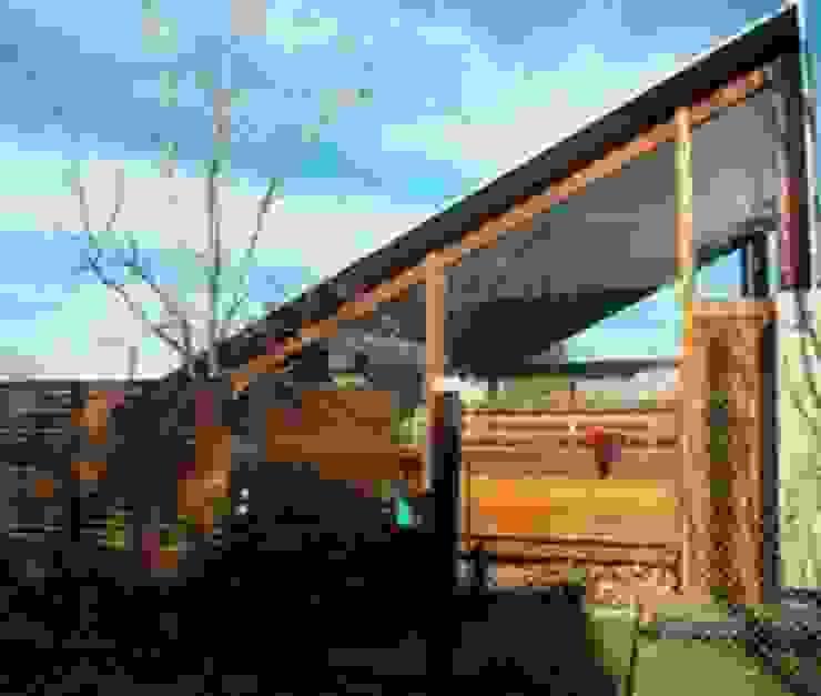 Casas de estilo rústico de juan olea arquitecto Rústico