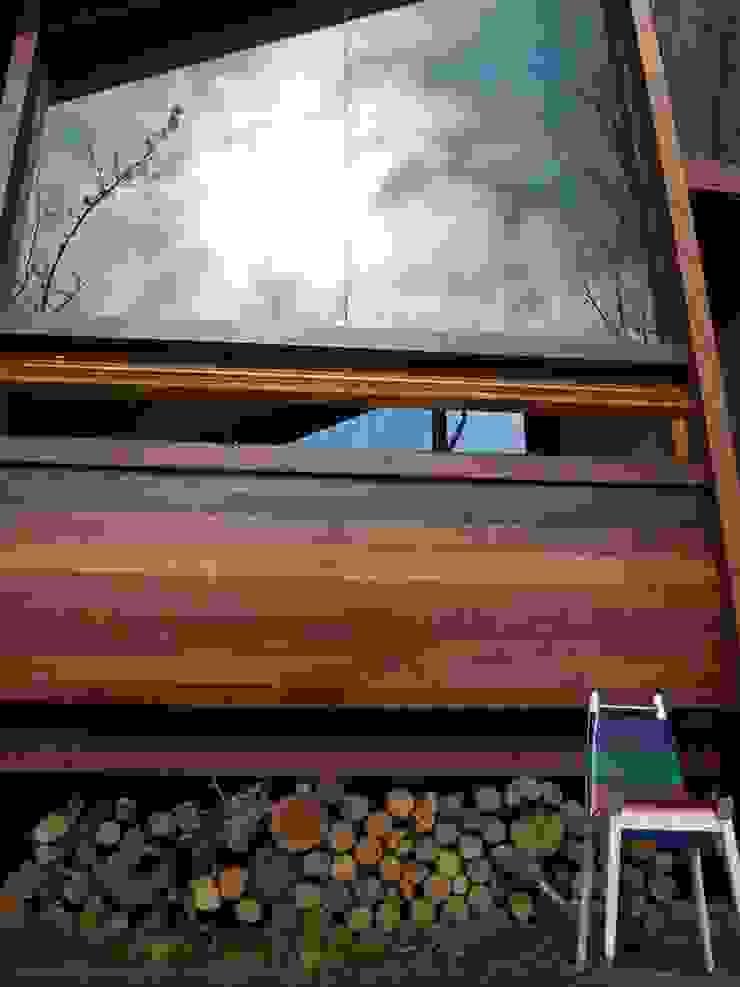 Casa de madera en VILLA ELISA – La Plata Casas rústicas de juan olea arquitecto Rústico