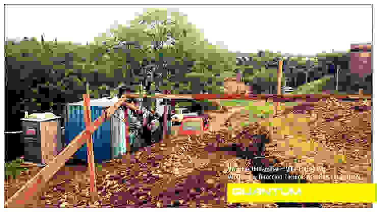 REPLANTEO - VIVIENDA COSTA AZUL Casas minimalistas de Betiana Denardi   Arquitecta Minimalista Vidrio