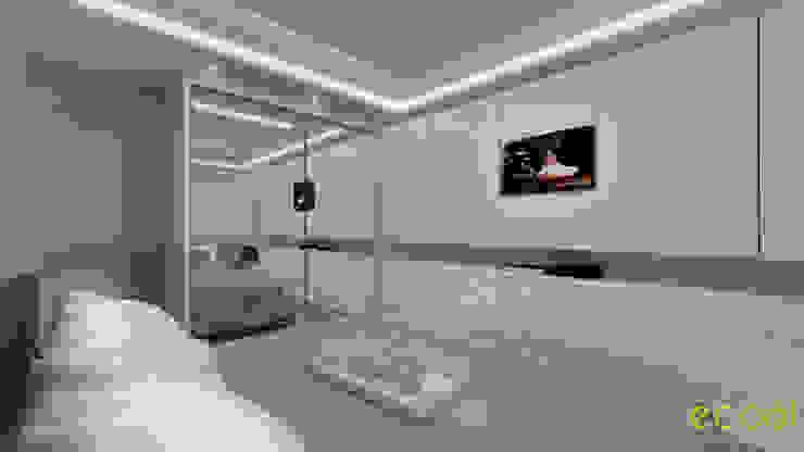 Dormitorios de estilo moderno de ecco! archi sudio Moderno Tablero DM