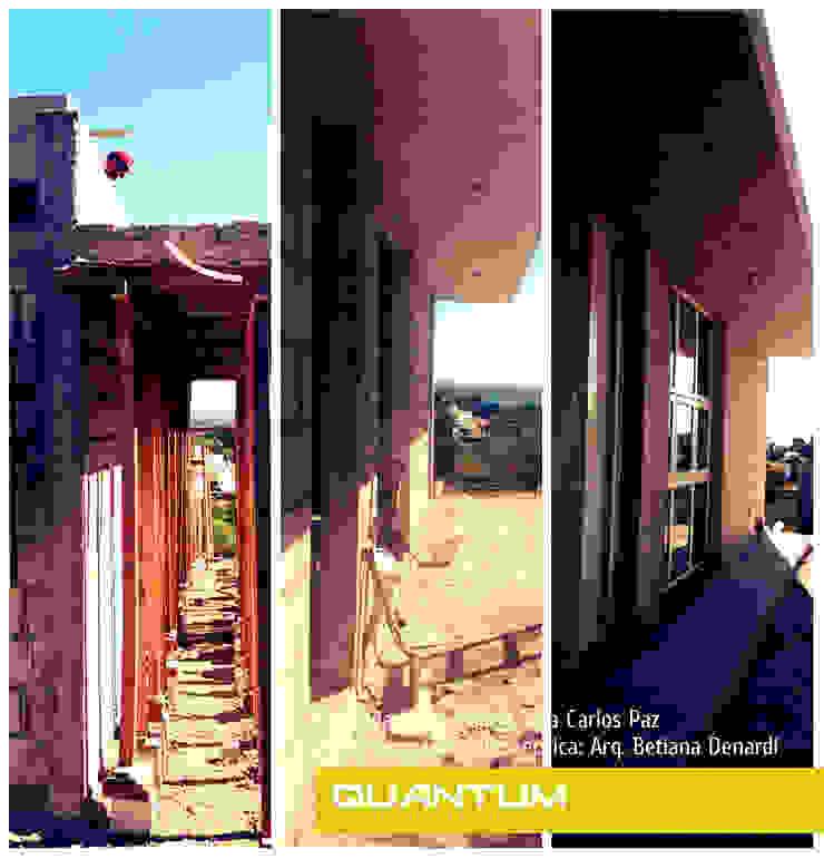 ETAPAS DE OBRA - VIVIENDA COSTA AZUL Casas minimalistas de Betiana Denardi   Arquitecta Minimalista Vidrio