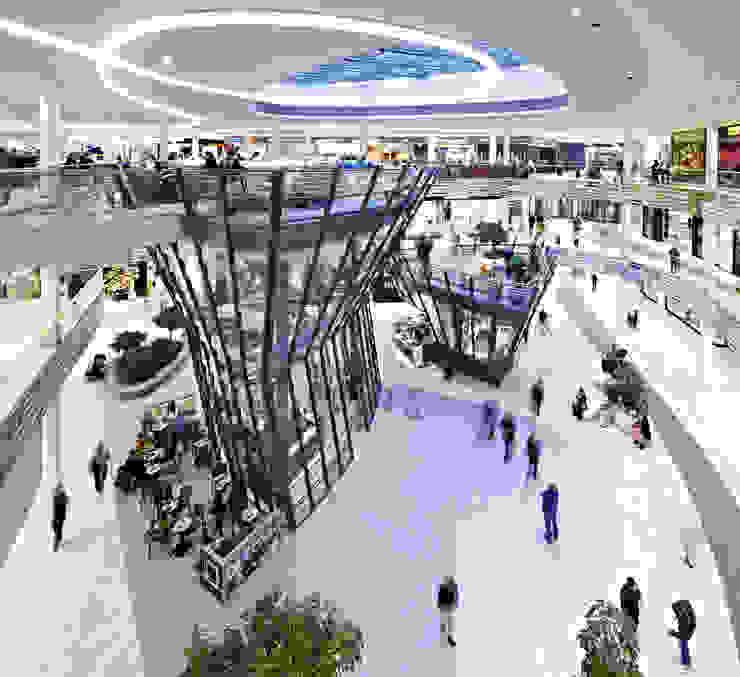 Centro Comercial Milaneo en la plaza Mailänder Platz de TBI Architecture & Engineering