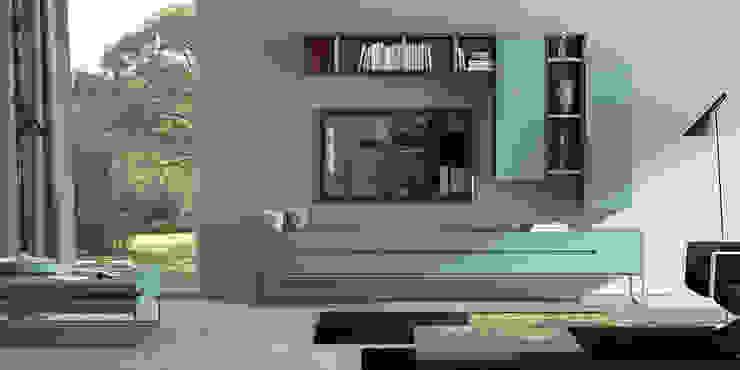 in stile  di Intense mobiliário e interiores;, Moderno