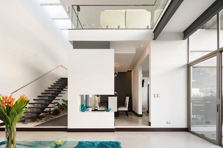 J-M arquitectura 의  복도 & 현관, 모던