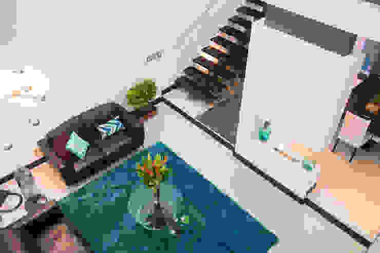 Salas de estilo  por J-M arquitectura , Moderno