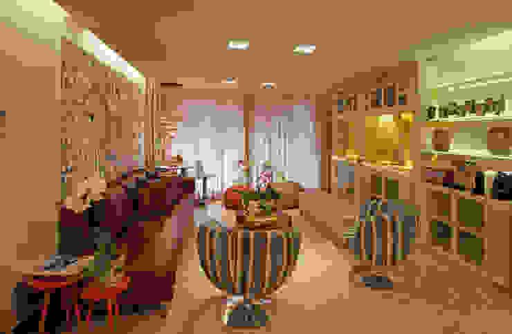 Salas de estilo  por Jacqueline Ortega Design de Ambientes, Clásico