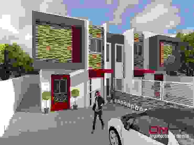 ミニマルな 家 の om-a arquitectura y diseño ミニマル