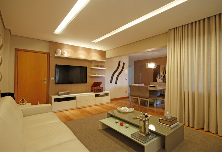 Jacqueline Ortega Design de Ambientes Living room
