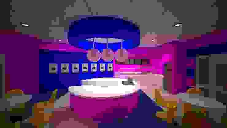 Bahamas island - Sweetz ice cream parlor and snacks bar by VINCA interiors