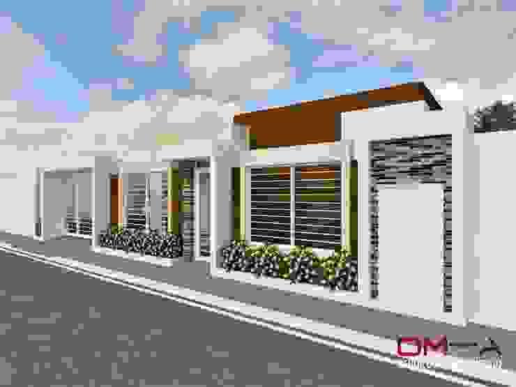 Case in stile minimalista di om-a arquitectura y diseño Minimalista