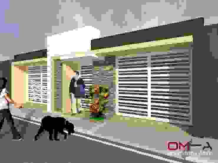 โดย om-a arquitectura y diseño มินิมัล
