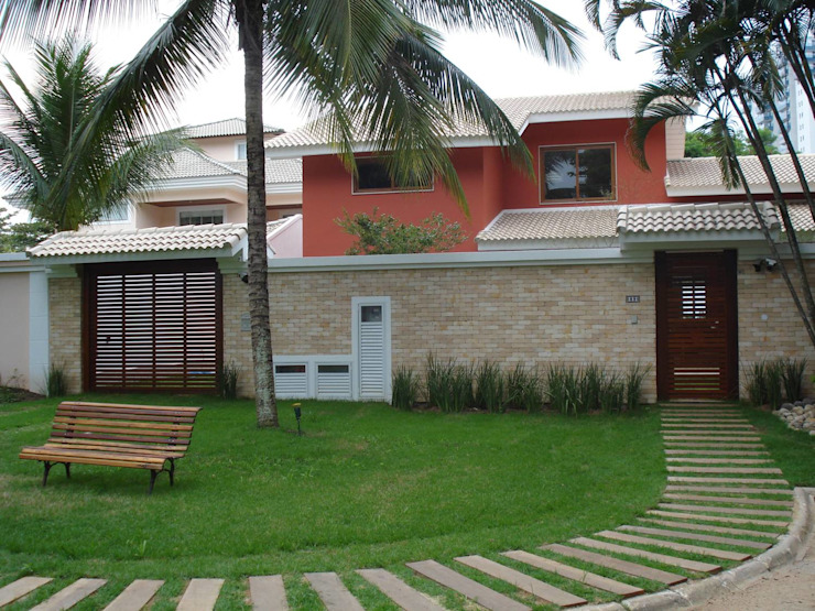 GEA Arquitetura Tropical style houses