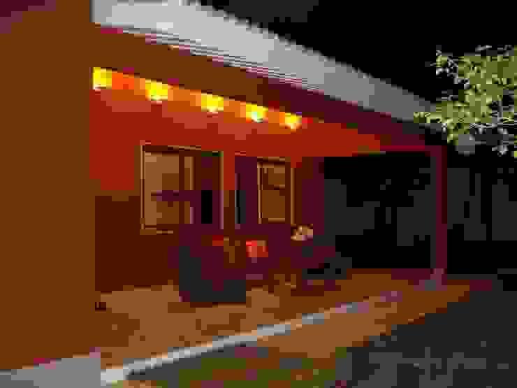 GEA Arquitetura Tropical style houses