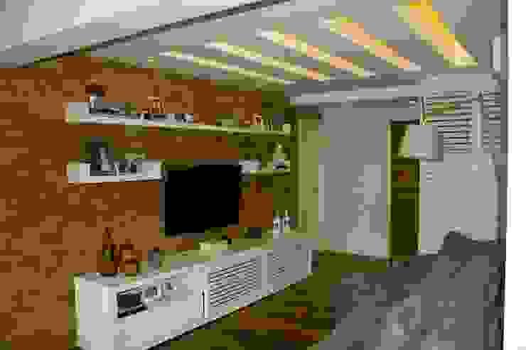 Scandinavian style media room by GEA Arquitetura Scandinavian