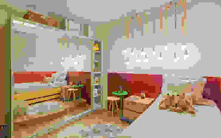 Modern Kid's Room by Jacqueline Ortega Design de Ambientes Modern