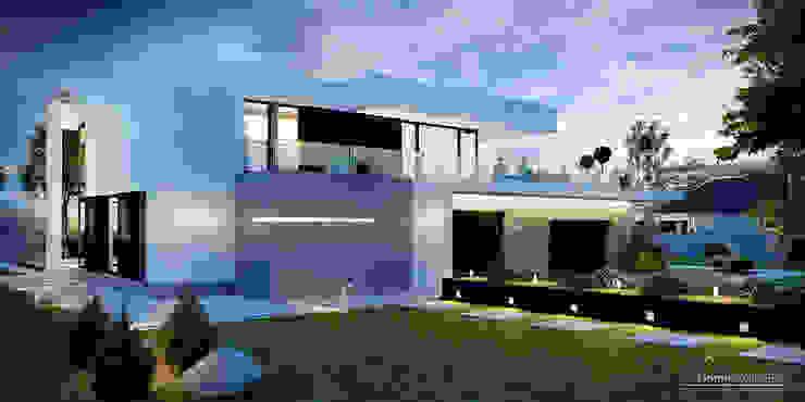 Huizen door HomeKONCEPT | Projekty Domów Nowoczesnych, Modern