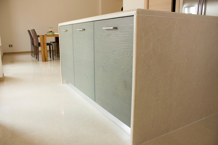 Modern kitchen by Quintarelli Pietre e Marmi Srl Modern Stone