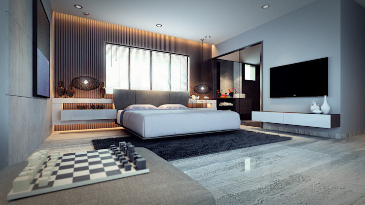 bed & bath: modern  by Im Designer studio,Modern