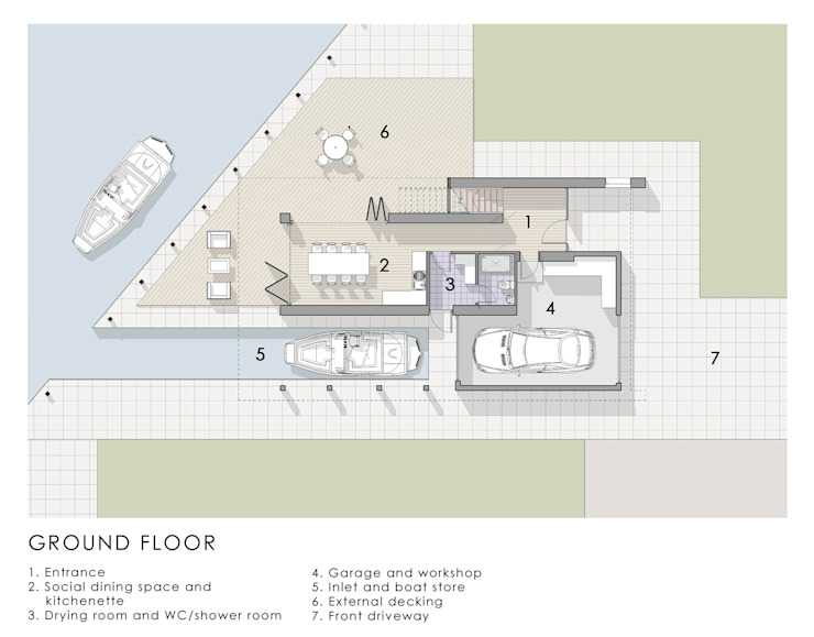 Ground Floor Plan Artform Architects