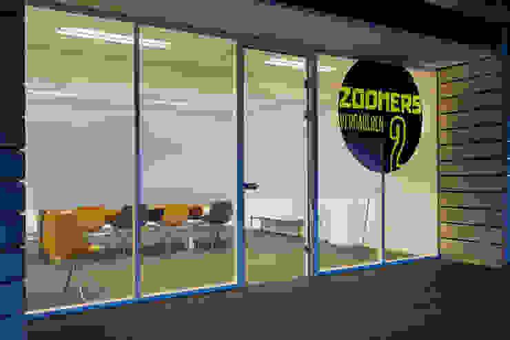 Vergaderkamers Verzamelkantoor Zoomers Industriële kantoorgebouwen van All-In Living Industrieel