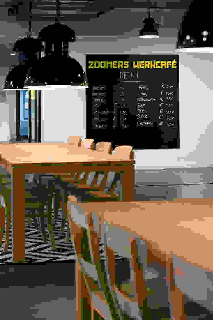 Brasserie Verzamelkantoor Zoomers Industriële gastronomie van All-In Living Industrieel