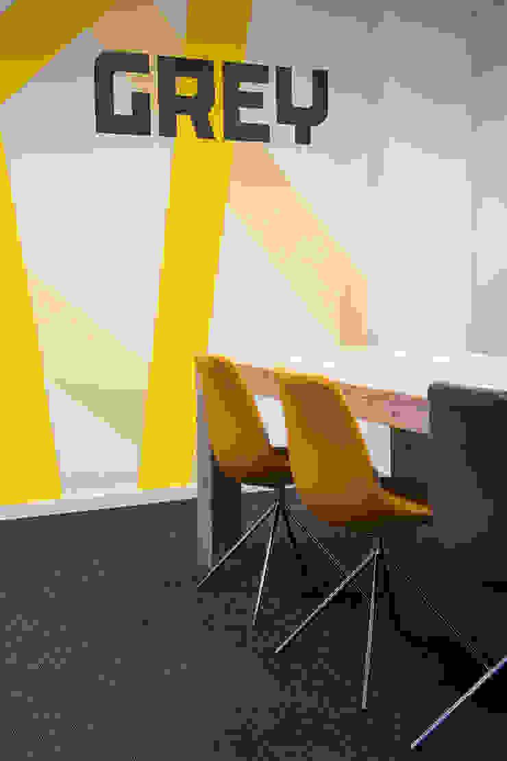 Vergaderkamer Verzamelkantoor Zoomers Industriële kantoorgebouwen van All-In Living Industrieel