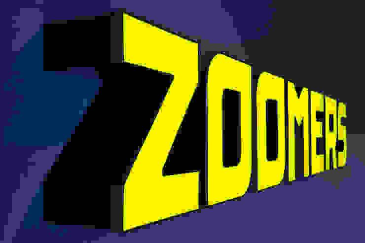 Logo ontwerp Verzamelkantoor Zoomers Industriële kantoorgebouwen van All-In Living Industrieel